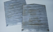 1″ Scale Cast Aluminum Boxcar Ends